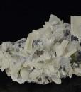 Quartz, Sphalerite, Calcite