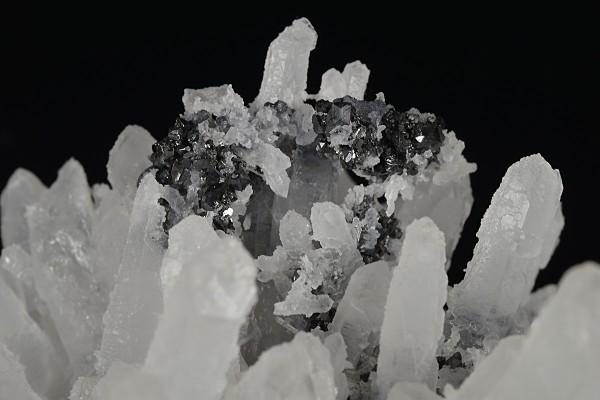 Quartz, Sphalerite, Galena