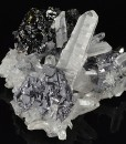 Spinel Law Twin Galena, Quartz, Sphalerite
