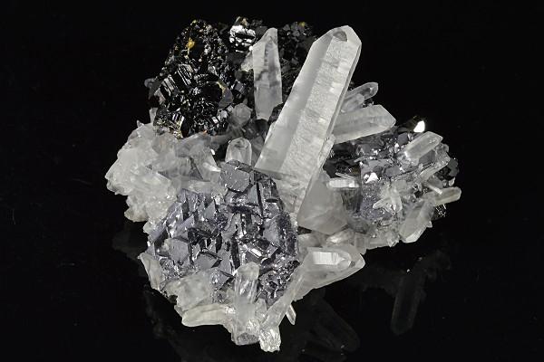 Spinel Law Twin Galena, Quartz, Sphalerite