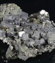 Skeletal Galena, Sphalerite, Pyrite, Chalcopyrite, Quartz