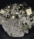 Pyrite, Japan Law Twin Quartz