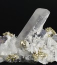 Quartz, Pyrite, Galena, Chalcopyrite