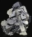 Skeletal Galena, Quartz