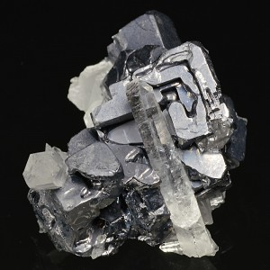 Skeletal Galena, Quartz