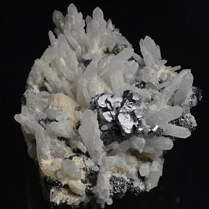 Galena, Quartz, Sphalerite, Pyrite, Calcite