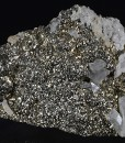 Pyrite, Baryte, Quartz, Calcite