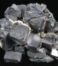 Truncated Galena,Calcite,Sphalerite,Quartz