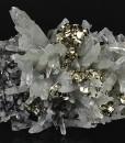 Quartz, Pyrite, Sphalerite, Galena