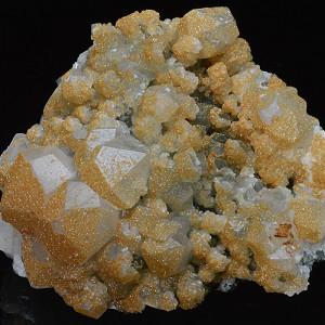 Two generations Calcite, Quartz