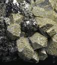 Galena, Chalcopyrite - floater, Sphalerite, Quartz