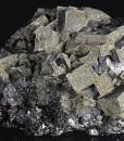 Galena, Sphalerite, Pyrite - floater