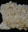 Baryte on Quartz