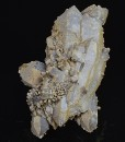 Bi-terminated Quartz, pseudomorphous after Calcite