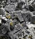 Skeletal Galena, Sphalerite, Chalcopyrite, Pyrite, Quartz