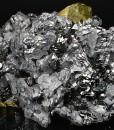 Twinned Galena, Sphalerite, Chalcopyrite, Quartz