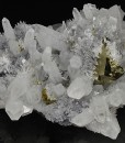 Chalcopyrite, two generations Quartz