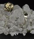 Quartz, Chalcopyrite, Pyrite