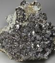 Galena, gem Sphalerite var.Cleiophane, Pyrite, Quartz