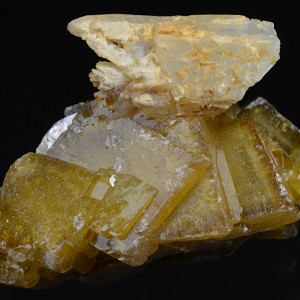 Quartz on Baryte