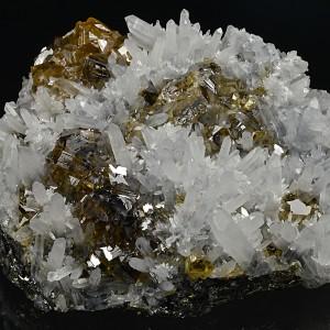 Cleiophane, Quartz, Galena