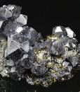 Truncated Galena, Chalcopyrite, Pyrite, Quartz