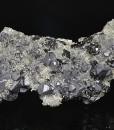 Galena on matrix, Sphalerite, Quartz, Calcite, Chalcopyrite