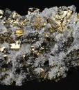 Pyrite, Quartz, Galena, Sphalerite