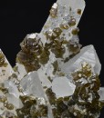 Cleiophane on Quartz