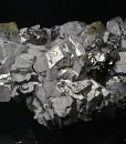 Galena, gem Sphalerite var.Cleiophane, Chalcopyrite