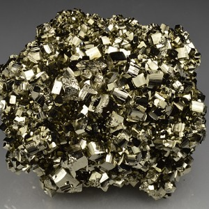 Pyrite with Quartz inclusions
