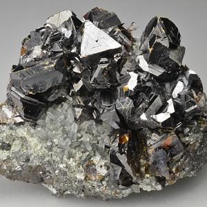 Sphalerite, Galena, Quartz