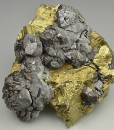 Chalcopyrite, gem Sphalerite var.Cleiophane, Quartz
