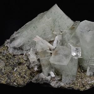Apophyllite, Scolecite