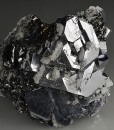 Truncated Galena, Quartz, Sphalerite
