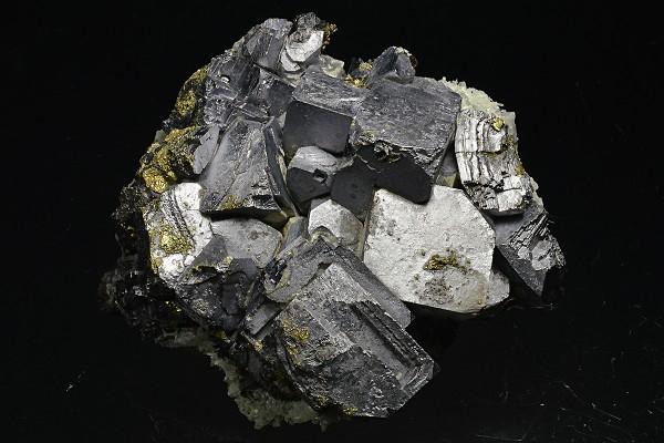 Galena, Chalcopyrite, Quartz, Sphalerite