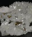 Quartz, Calcite, Chalcopyrite