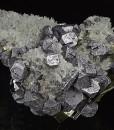 Truncated Galena, Quartz, Pyrite