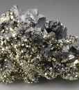 Galena, gem Sphalerite var.Cleiophane, Pyrite