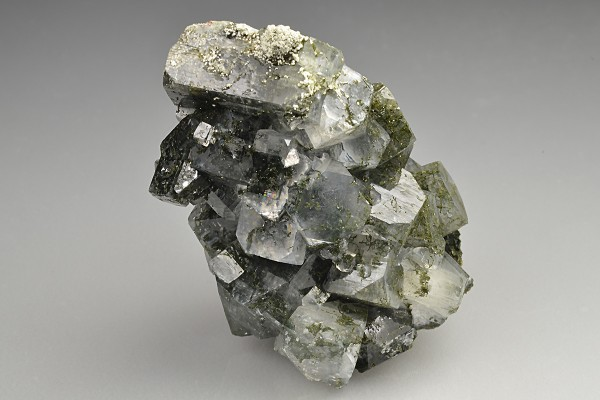 Apophyllite green with inclusions