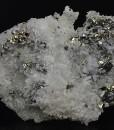 Quartz, Pyrite, Chalcopyrite, Sphalerite
