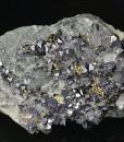 Truncated Galena, Pyrite, Chalcopyrite, Sphalerite, Quartz