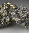 gem Sphalerite var.Cleiophane, Pyrite, Chalcopyrite, Quartz