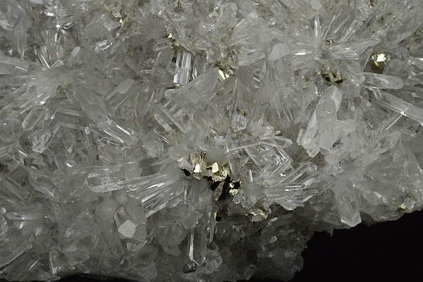 Quartz with Pyrite inclusions