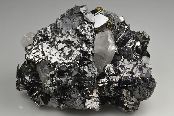 Gem Sphalerite var.Cleiophane, Quartz