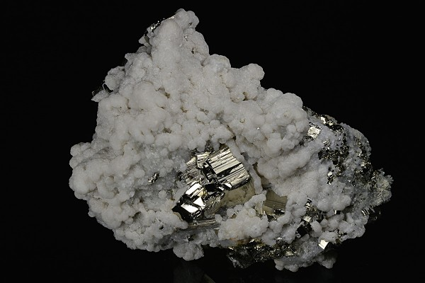 Calcite, Quartz, Pyrite