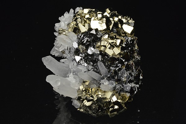 Pyrite, Quartz, Sphalerite