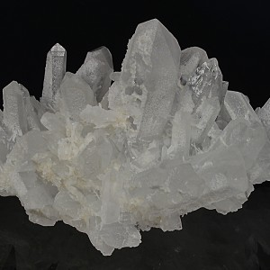 Quartz tinged with Calcite