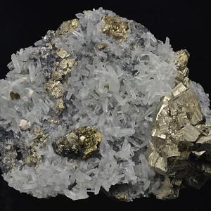 Pyrite, Quartz, Chalcopyrite, Sphalerite