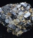Galena, two generations Calcite, Sphalerite
